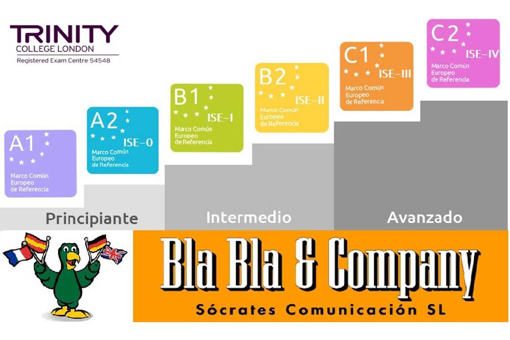 Trinity Academia Ingles Granada Bla Bla Company 1