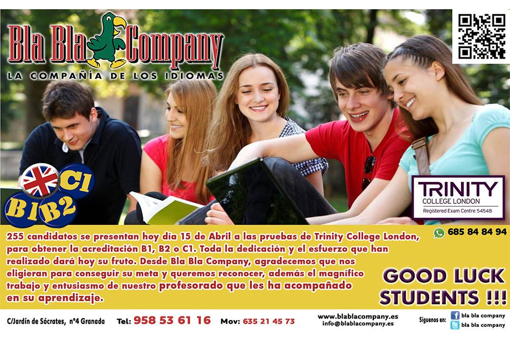 Trinity Academia Ingles Granada Bla Bla Company 4