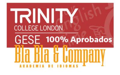 100% Aprobados C1-GESE-TRINITY con Bla Bla Company.
