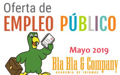 Oferta Pública de Empleo (Mayo 2019)