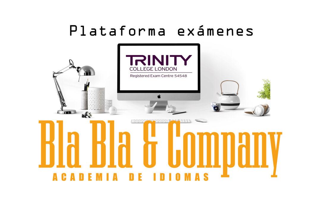 Plataforma online de preparación Trinity de Bla Bla Company
