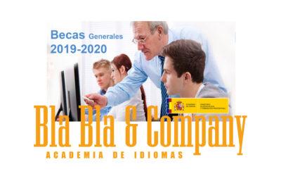 Becas Generales 2019-2020 Ministerio Educación