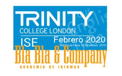 Examen Trinity Febrero 2020