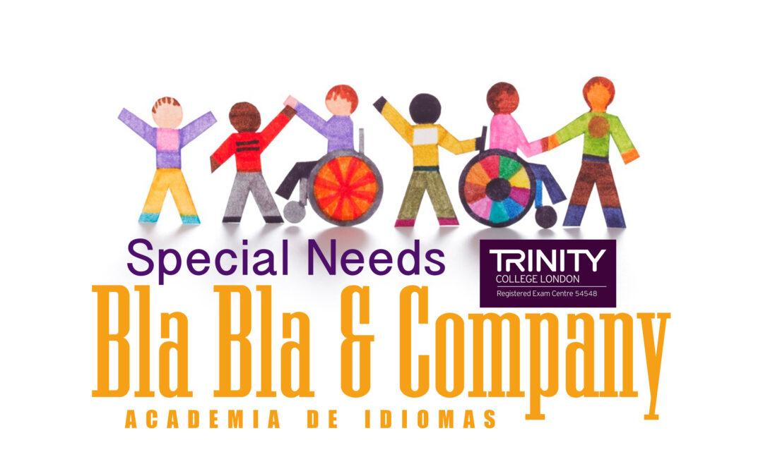Special Needs Trinity-Bla Bla Company