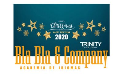 Feliz Navidad y prospero año 2020