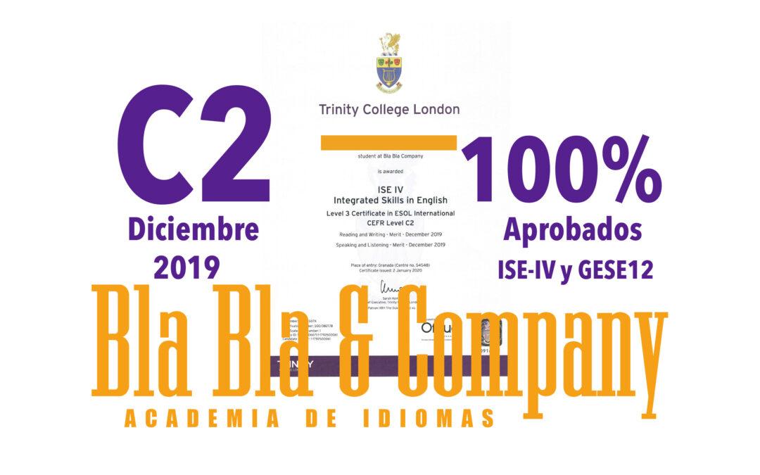 Trinity C2 100% Aprobados con Bla Bla Company