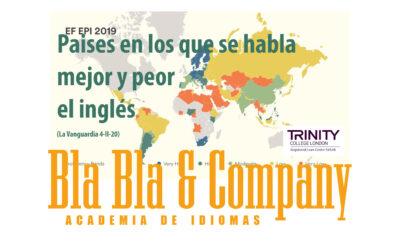 Los países en los que se habla mejor y peor el inglés (La Vanguardia)