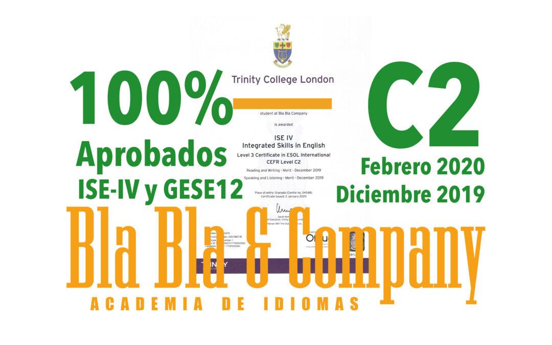 C2 – 100% Aprobados Febrero 2020