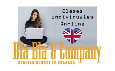 Clases individuales de inglés online