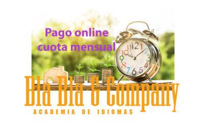 Pago Mensualidad Online Bla Bla Company Virtual