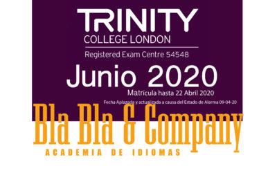 Examen Trinity Junio 2020