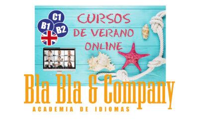 Cursos Verano Online Inglés 2020 Bla Bla Company