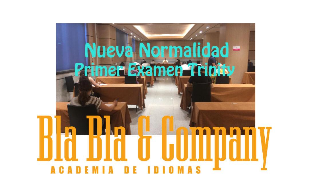 Examen Trinity Granada Nueva Normalida