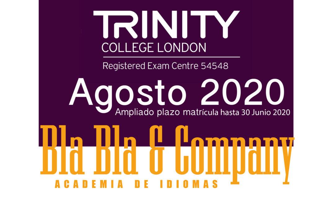 Examen Trinity Agosto 2020.