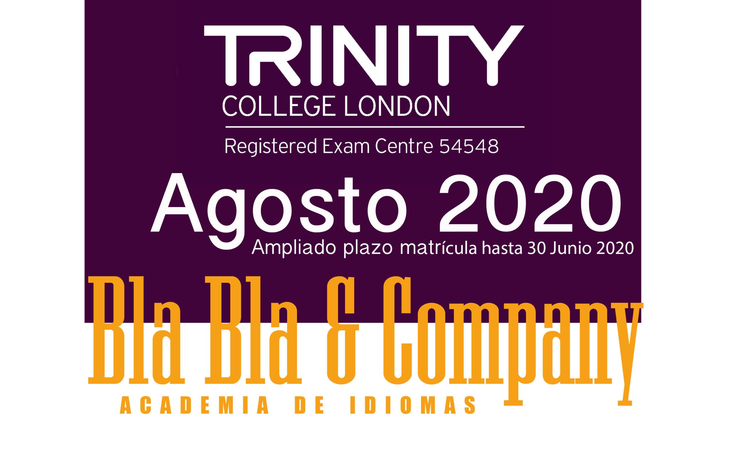 Examen Trinity Agosto