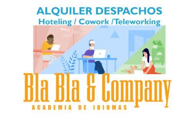 Alquiler Despachos / Hoteling / Cowork / Teleworking