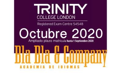 Examen Trinity 7 Octubre 2020