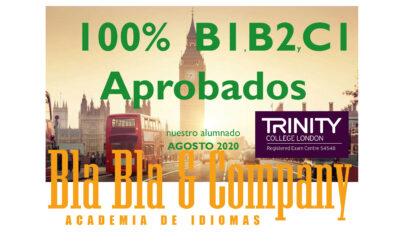 B1, B2 y C1 Inglés 100% Aprobados TRINITY- Bla Bla Company
