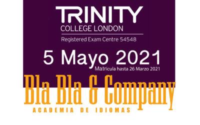 Examen Trinity 5 de Mayo 2021
