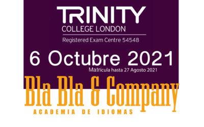 Examen Trinity 6 de Octubre 2021