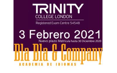 Examen Trinity 3 Febrero 2021