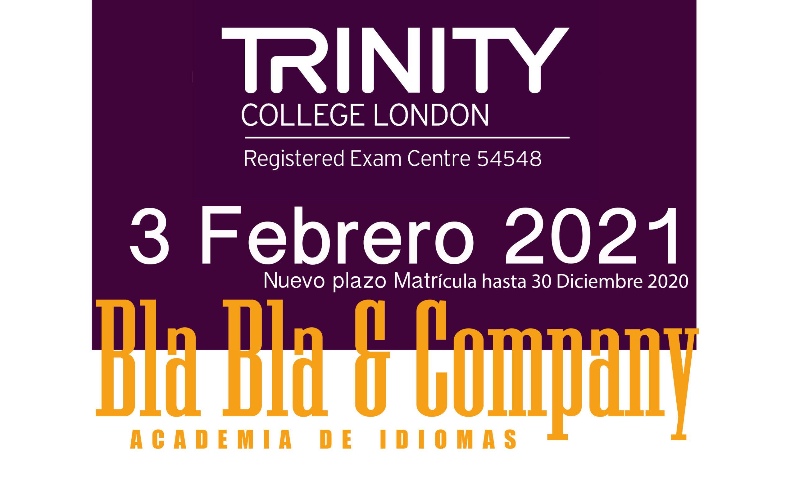 Examen Trinity Febrero 2021