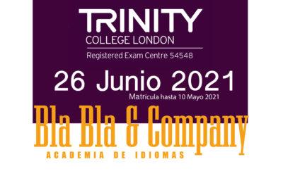 Examen Trinity 26 de Junio 2021