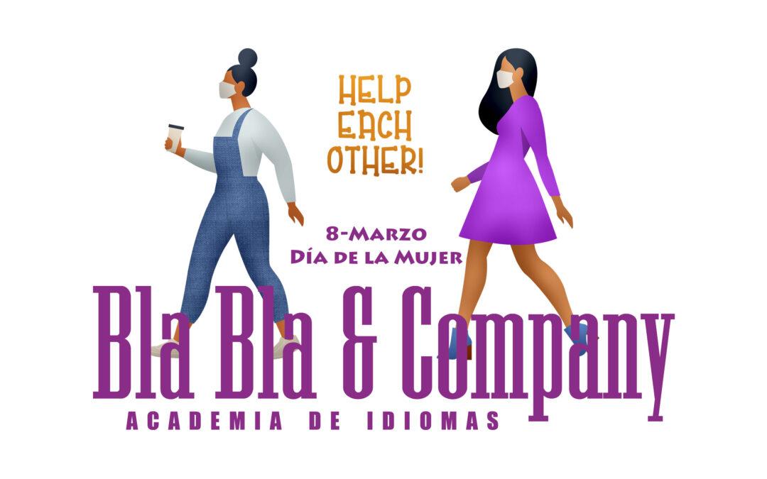 8M + Día de la Mujer + Academia Bla Bla Company