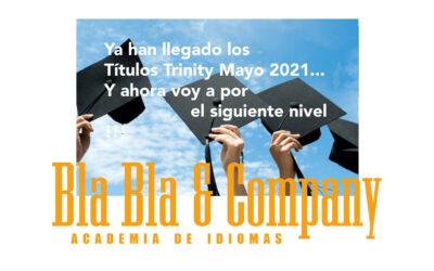 Títulos Trinity Mayo 2021