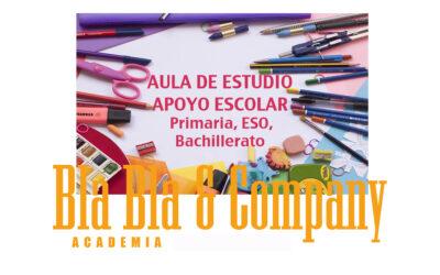Aula de Estudio: Apoyo y Refuerzo Escolar: Primaria, ESO y Bachiller. 2021-2022