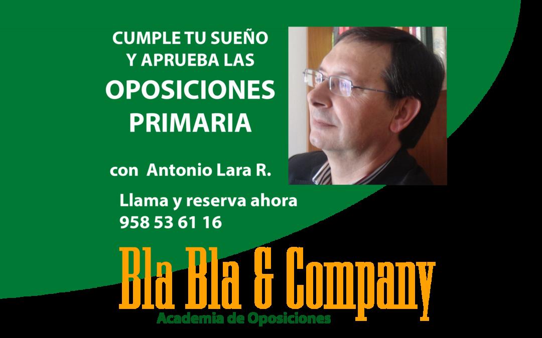 Oposiciones Primaria: Preparador Antonio Lara Ramos