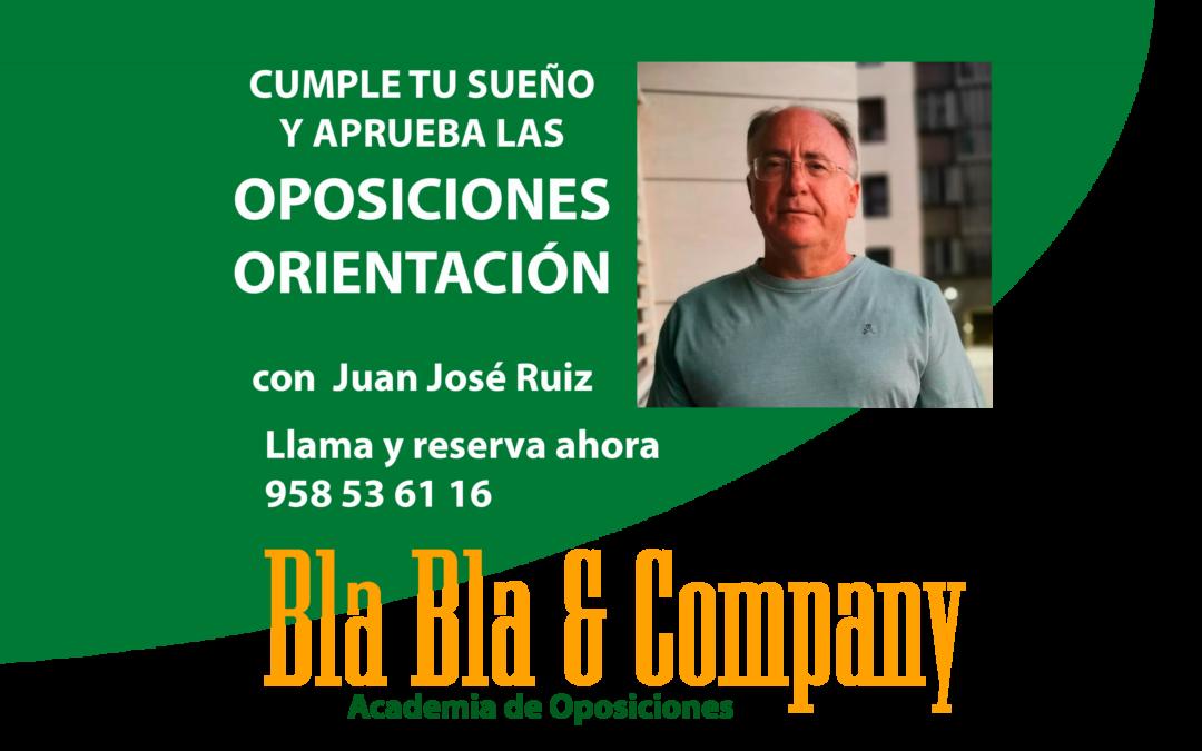 Oposiciones Orientación Escolar: Preparador Juan José Ruiz